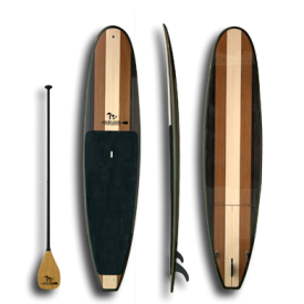 Stand up paddle board Great Lakes Woodie Boards