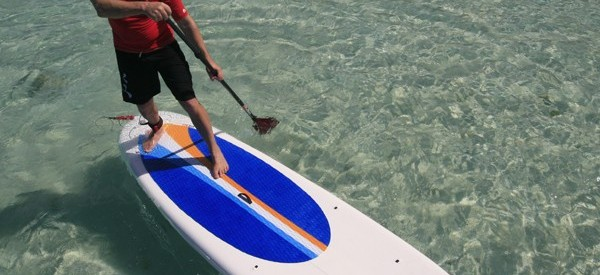 Red Paddle Co paddle board in action