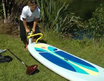 guide to inflate your red paddle co inflatable sup board
