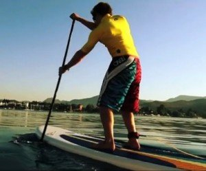 Improve your stand up paddle boarding