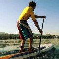 paddling with your core stand up paddle board work out