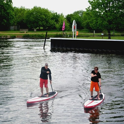 inflatable racing stand up paddle board 1