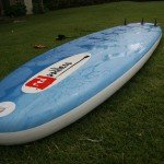 red paddle co inflatable sup underside