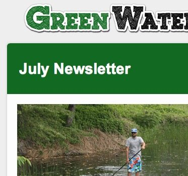 green water sports july newsletter