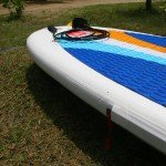 RSS batten sleeve on teh Red Paddle Co inflatable SUP