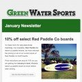 red paddle co sups on sale january newsletter