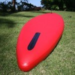 Nose and nose fin of the Red air stand up board