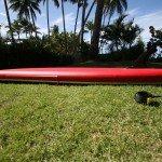 Red Paddle Co infaltable SUP 12 6 rocker line
