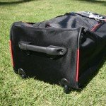Sturdy base and wheels for Red Air SUP bag