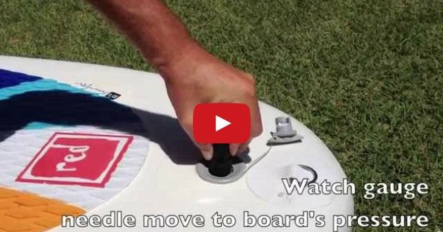 How to use the K Pump inflatable SUP pressure gauge