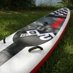 Handles on Elite Red Paddle Co SUP
