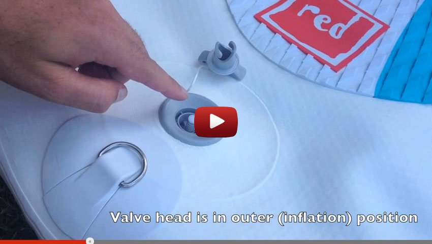 How to inflate and inflatable SUP paddle board