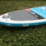 Tail of 2015 Red Paddle Co Ride SUP 10 8
