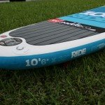 Tail of the 2015 10 6 Ride Red Paddle Co SUP