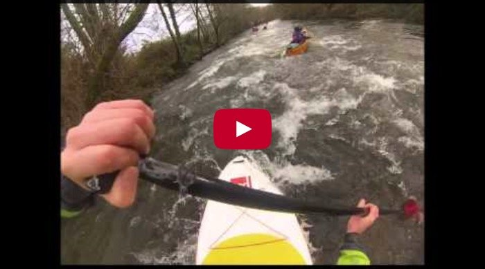 Red Paddle co 2015 Flow white water SUP 9 6