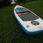 Square tail paddle board inflatable SUP