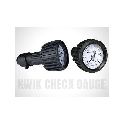 Kwik Check Pressure Gauge Back Mount
