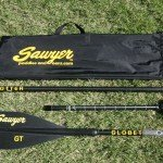 sawyer globetrotter GT SUP paddle 3 piece