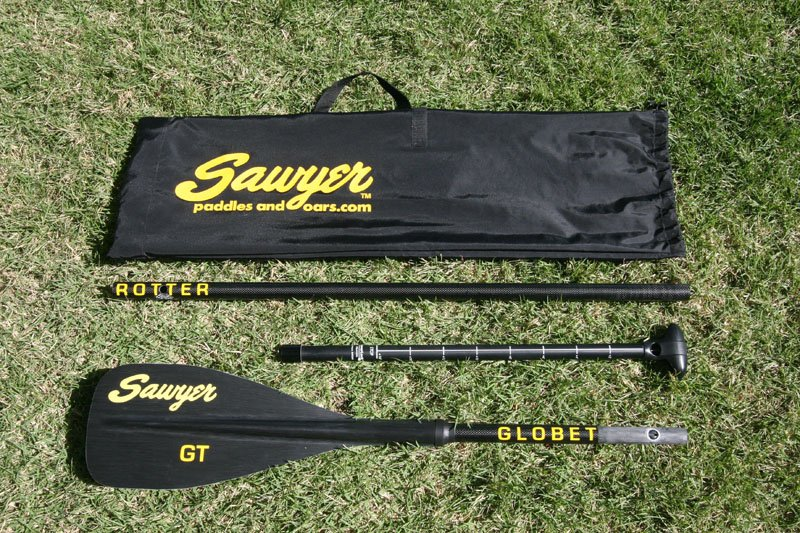 sawyer globetrotter GT SUP paddle 3 piece