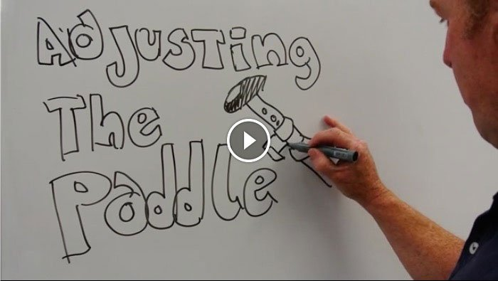 adjusting your stand up paddle board adjustable paddle