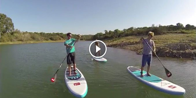 why choose a red paddle co inflatable paddle board