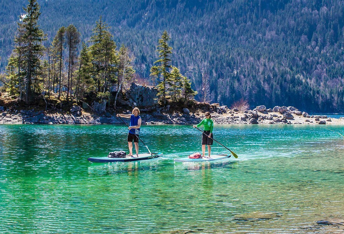SUP Astro Starboard Touring inflatable paddle board