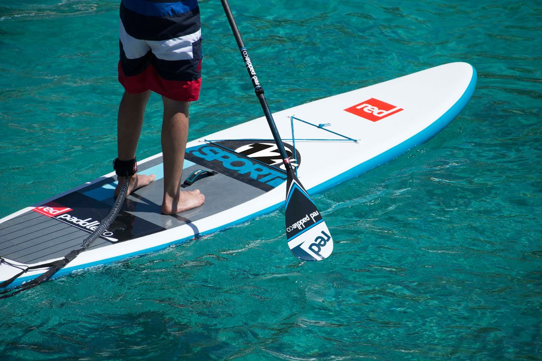 Red AIr Sport 12 6 infltable paddle board Red Paddle SUP
