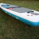 Thickness Sport 12 6 Red Air paddle board inflatable SUP 2016
