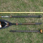 Red Paddle Co 3 piece travel SUP paddle