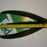blade size on red paddle co travel paddle
