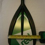 blade width of sup paddle