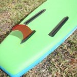 tail runner fins on inflatable sup