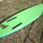 underside of red paddle co 13 2 touring explorer sup