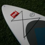 tie down area on Red Paddle Co sport 11 3 2017 paddle board