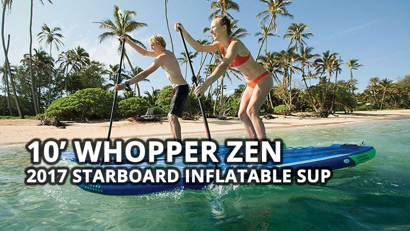 2017 starboard astro inflatable whopper zen paddle board sup