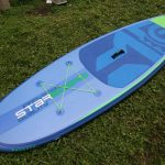 starboard inflatable paddle board sup whopper zen