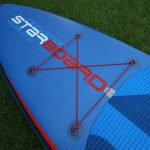 cargo area on starboard 2017 inflatable paddle board