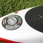 high pressure valve on inflatable sup paddle board 14 race 2017