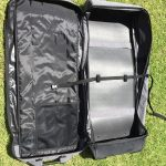 magic case inflatable sup board bag open