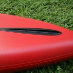 red paddle nose runner fin 14 race