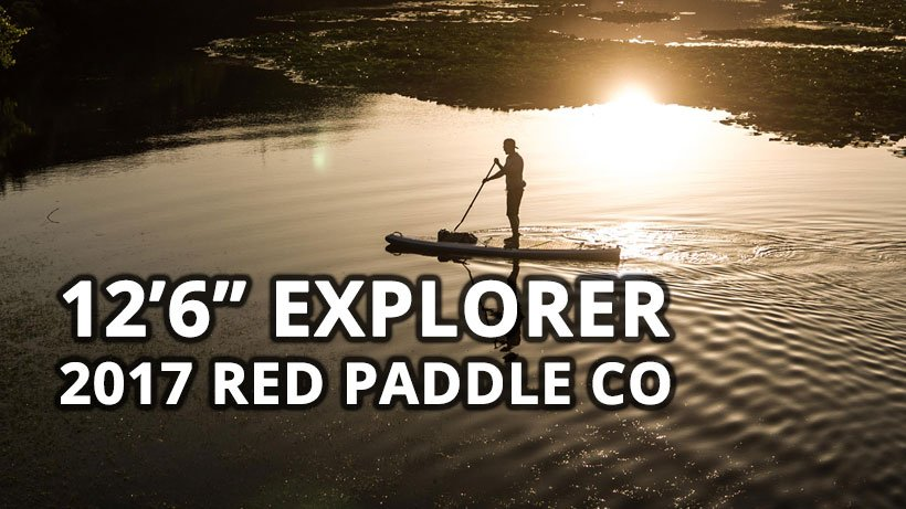red paddle co 2017 explorer 12 6 inflatable touring sup