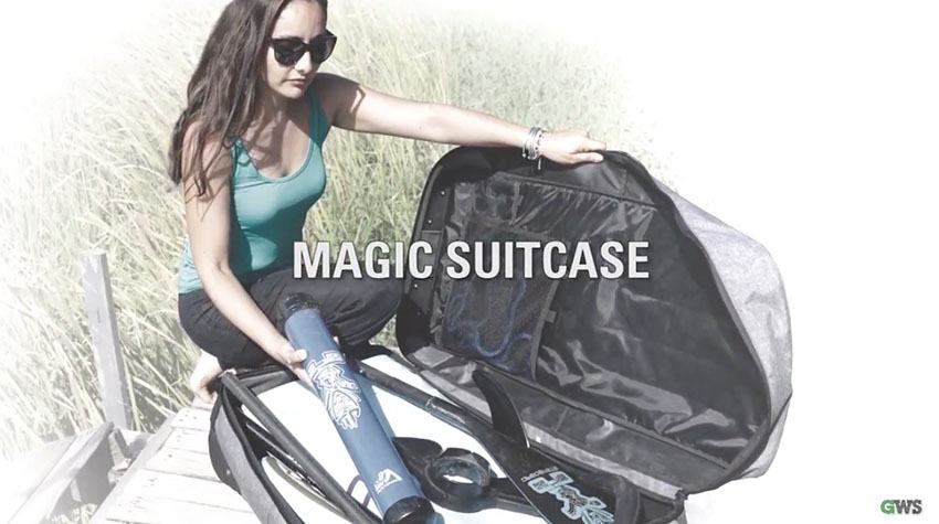 Starboard inflatable SUP magic suitcase
