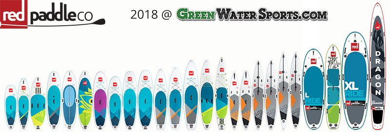 red paddle co 2018 at green water sports