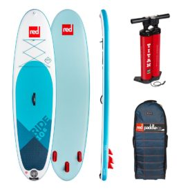 "2019 red paddle ride 10'6"" best inflatable paddle board"