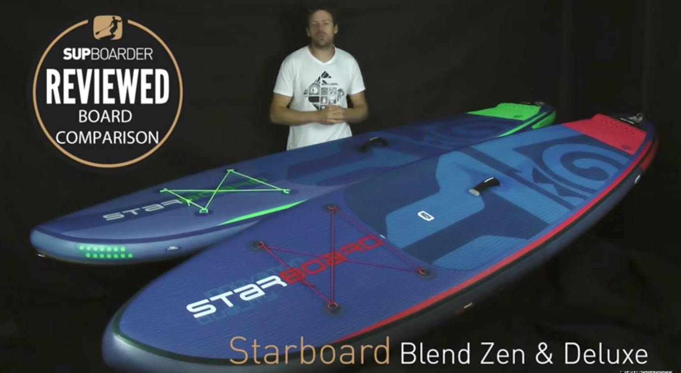 starboard blend inflatable paddle board sup 1