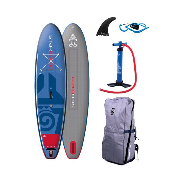 2018 drive deluxe inflatable stand up paddle board starboard