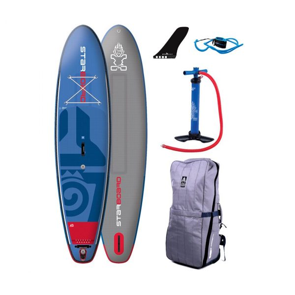 starboard 2018 blend deluxe inflatable sup dual chamber
