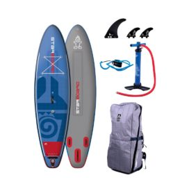 starboard 2018 wide point deluxe dual chamber paddle board