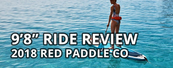 2018 red paddle co ride 9-8 best inflatable paddle board sup
