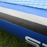carbon rail bands on 2018 starboard deluxe inflatable paddle boards